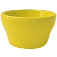 International Tableware CA-4-Y Cancun 8 oz. Yellow Stoneware Bouillon - 36/Case