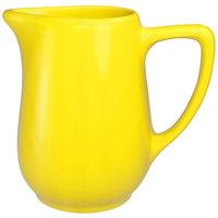 International Tableware CA-60-Y Cancun 13 oz. Yellow Stoneware Creamer - 36/Case