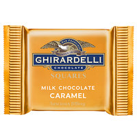Ghirardelli Individually-Wrapped Milk Chocolate Caramel Squares - 430/Case