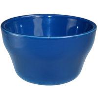 International Tableware CA-4-LB Cancun 8 oz. Light Blue Stoneware Bouillon - 36/Case