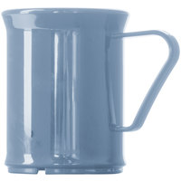 Cambro 96CW401 Camwear 9.6 oz. Slate Blue Polycarbonate Mug - 48/Case