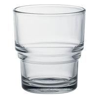 Duralex 1009AC04 Bistro 7.5 oz. Stackable Glass Tumbler - 4/Pack