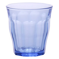Duralex 1028BB06 Picardie Marine 10.875 oz. Stackable Glass Tumbler - 6/Pack