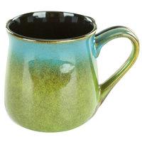 International Tableware 4416-146 Sioux Falls 16 oz. Blue to Green Stoneware Tavern Mug - 24/Case