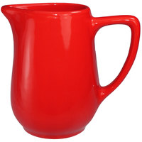 International Tableware CA-60-CR Cancun 13 oz. Crimson Red Stoneware Creamer - 36/Case