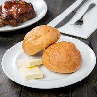 10 Strawberry Street TAV-5 Taverno 7 inch White Porcelain Bread and Butter Plate - 24/Case