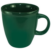 International Tableware 81950-67 Cancun 18 oz. Green Stoneware Mocha Mug - 36/Case