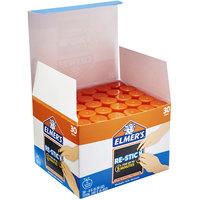 Elmer's E4830 0.28 oz. Re-Stick Clear All Purpose School Glue Stick   - 30/Box