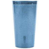 Carlisle 521654 Stackable 16 oz. Blue SAN Plastic Tumbler - 6/Pack