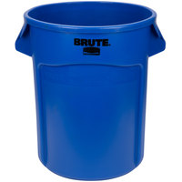 Rubbermaid FG262000BLUE BRUTE 20 Gallon Blue Trash Can