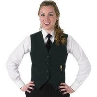 Henry Segal Women's Customizable Hunter Green Basic Server Vest - XS