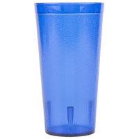 Carlisle 522047 Stackable 20 oz. Royal Blue SAN Plastic Tumbler - 6/Pack