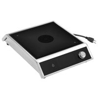 Vollrath MPI4-1800 Medium-Power 4-Series Commercial Induction Range with Knob Control - 120V, 1800W