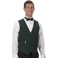 Henry Segal Men's Customizable Hunter Green Basic Server Vest - XS