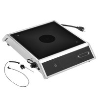 Vollrath MPI4-1440S Medium-Power 4-Series Commercial Induction Range with Temperature Control Probe - 120V, 1440W