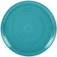 Homer Laughlin 505107 Fiesta Turquoise 15 inch China Pizza / Baking Tray - 4 / Case