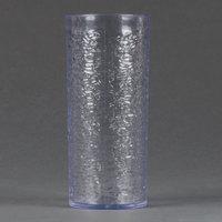 Carlisle 551907 Pebble Optic 20 oz. Clear SAN Plastic Tumbler - 6/Pack