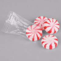 Peppermint Starlite Mints Individually Wrapped 5 lb. Bag - 4/Case