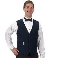 Henry Segal Men's Customizable Navy Blue Basic Server Vest - XS