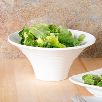 American Metalcraft FLRB8 Endurance 33 oz. Flared Round Melamine Serving Bowl