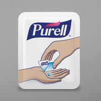 Purell® 9630-2M-NS Advanced 0.04 oz. Single Use Hand Sanitizer Packets - 2000/Case