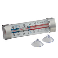Taylor 3503FS 4 3/4 inch Tube Refrigerator / Freezer Thermometer