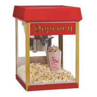 Nemco GS1504 Global Solutions 4 oz. Red Popcorn Machine / Popper - 120V, 688W