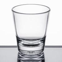 Carlisle 560107 Alibi 1.5 oz. SAN Plastic Shot Glass - 6/Pack