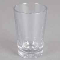 Carlisle 560207 Alibi 1.7 oz. SAN Plastic Shooter / Dessert Shot Glass   - 6/Pack