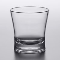Carlisle 561207 Alibi 11.3 oz. SAN Plastic Double Rocks / Old Fashioned Glass - 6/Pack