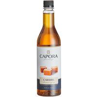 Capora 750 mL Caramel Flavoring Syrup
