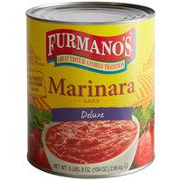 Furmano's #10 Can Deluxe Marinara Sauce   - 6/Case