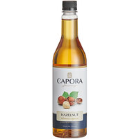 Capora 750 mL Hazelnut Flavoring Syrup
