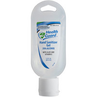 Kutol 37073 Health Guard 1.5 oz. Dye and Fragrance Free 70% Alcohol Instant Hand Sanitizer Gel Squeeze Bottle - 48/Case