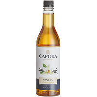 Capora 750 mL Vanilla Flavoring Syrup