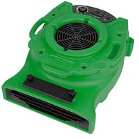 B-Air VLO-25GN Green Ventlo-25 Low Profile Variable Speed Air Mover - 1/4 HP