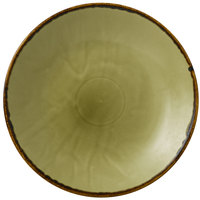 Dudson HG255 Harvest 10 inch Green Deep Coupe Round China Plate by Arc Cardinal - 12/Case