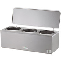 Server DI-3 92040 3 Qt. Triple Cone Dip Warmer - 120V, 180W