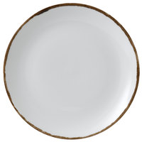 Dudson HN260 Harvest 10 1/4 inch Natural Coupe Round China Plate by Arc Cardinal - 12/Case