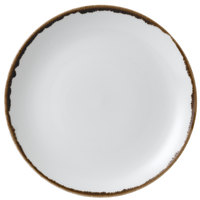 Dudson HN217 Harvest 8 11/16 inch Natural Coupe Round China Plate by Arc Cardinal - 12/Case