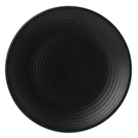 Dudson EJ229 Evo 9 inch Matte Jet Coupe Round Stoneware Plate by Arc Cardinal - 24/Case