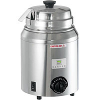 Server FS 82500 3 Qt. Round Warmer with Ladle - 120V, 500W