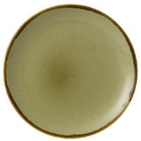 Dudson HG217 Harvest 8 11/16 inch Green Coupe Round China Plate by Arc Cardinal - 12/Case