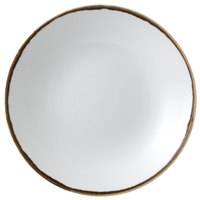 Dudson HN255 Harvest 10 inch Natural Deep Coupe Round China Plate by Arc Cardinal - 12/Case