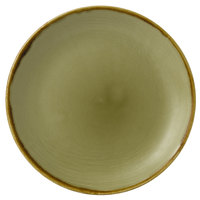 Dudson HG165 Harvest 6 1/2 inch Green Coupe Round China Plate by Arc Cardinal - 12/Case