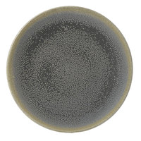 Dudson EG162 Evo 6 3/8 inch Matte Granite Coupe Round Stoneware Plate by Arc Cardinal - 24/Case