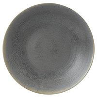 Dudson EG292 Evo 11 1/2 inch Matte Granite Deep Round Stoneware Plate by Arc Cardinal - 8/Case