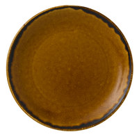 Dudson HB165 Harvest 6 1/2 inch Brown Coupe Round China Plate by Arc Cardinal - 12/Case