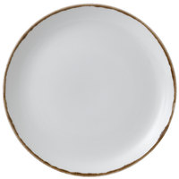 Dudson HN288 Harvest 11 1/4 inch Natural Coupe Round China Plate by Arc Cardinal - 12/Case