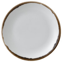 Dudson HN165 Harvest 6 1/2 inch Natural Coupe Round China Plate by Arc Cardinal - 12/Case